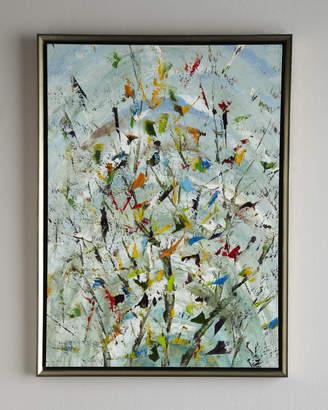 "John-Richard Collection John Richard Collection The Confetti Garden"" Original Oil Painting"""