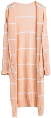 Goodnight Macaroon 'Emersyn' Striped Thin Open Long Cardigan (2 Colors)