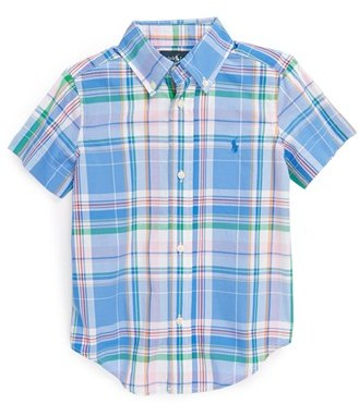 Ralph Lauren Sport Shirt (Toddler Boys)