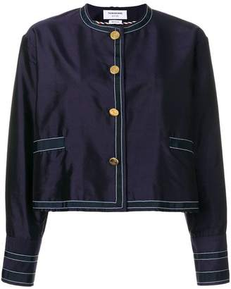 Thom Browne Unconstructed Silk Dressing Jacket