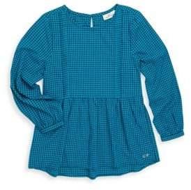 Vineyard Vines Toddler's, Little Girl's& Girl's Gingham Cotton Top