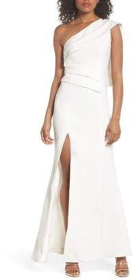 C/Meo Collective Be Moved One-Shoulder Gown