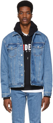 Diesel Blue Denim Nhill Jacket
