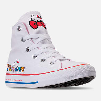 Converse Girls' Little Kids' Chuck Taylor All Star Hello Kitty High Top Casual Shoes