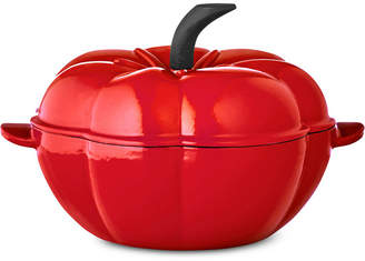Martha Stewart Collection 2-Qt. Tomato Enameled Cast Iron Dutch Oven, Created for Macy's