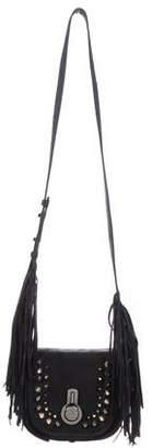 Stuart Weitzman Suede Embellished Crossbody Bag