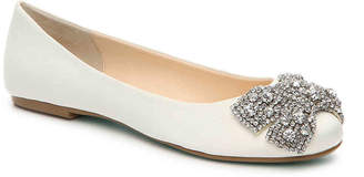 Betsey Johnson Ever Ballet Flat - Women's