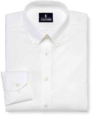 STAFFORD Stafford Executive Non-Iron Cotton Pinpoint Oxford Shirt