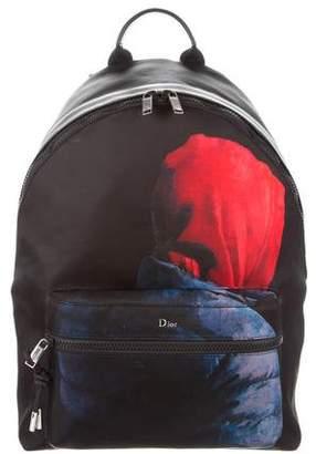Christian Dior 2018 Printed Backpack