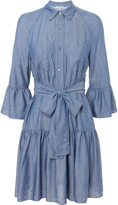 Derek Lam 10 Crosby Grommet Denim Dress