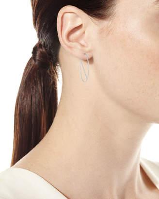 Lana 14k Eclipse Wire Hoop Earrings