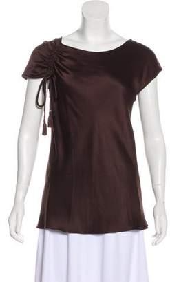 Alberta Ferretti Silk Sleeveless Top