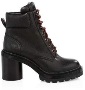 Marc Jacobs Crosby Leather Hiking Boots
