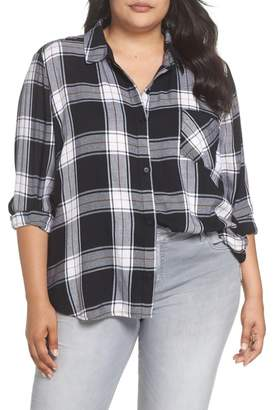 BP Plaid Shirt (Plus Size)