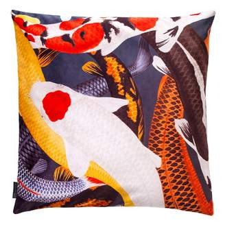 Arlette Ess Koi II Large Velvet Floor Cushion Style 1