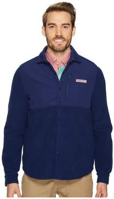 Vineyard Vines Shirt Jacket Snap Fleece Men's Fleece