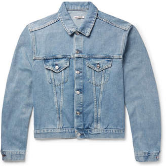 Our Legacy Mudride Distressed Denim Jacket