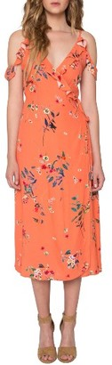 Women's Willow & Clay Print Midi Dress $109 thestylecure.com