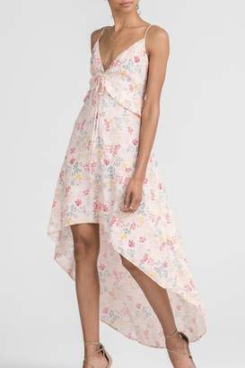 Lush Clothing High-Low Floral Dress