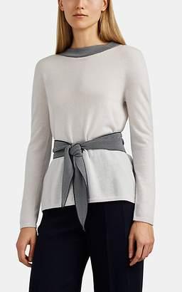 Giorgio Armani Women's Cashmere Belted Sweater - Cream