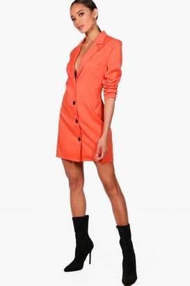 boohoo Longline Blazer Dress