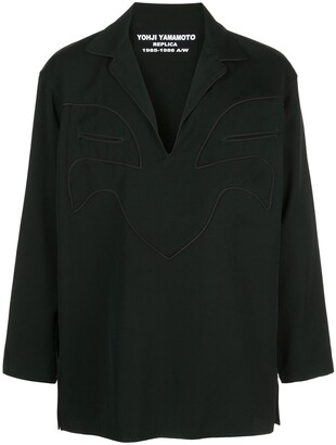 Yohji Yamamoto cord piping shirt