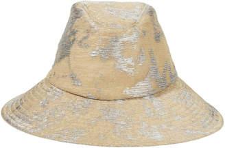 Eugenia Kim Jordana Metallic Bucket Hat