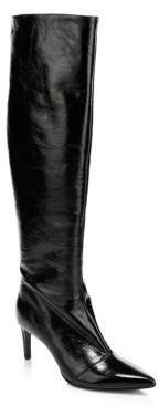 Rag & Bone Rag& Bone Rag& Bone Women's Beha Knee-High Leather Boots - Black - Size 35 (5)