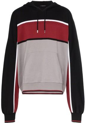 Y/Project logo embossed stripe hoodie