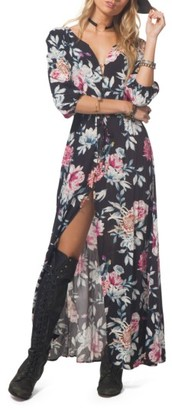 Women's Rip Curl Floral Maxi Dress $69.50 thestylecure.com