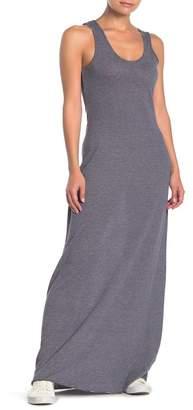 Alternative Striped Maxi Tank Dress