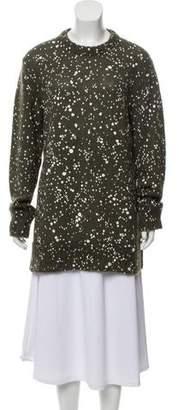 Fendi Mohair & Silk-Blend Medium-Weight Sweater