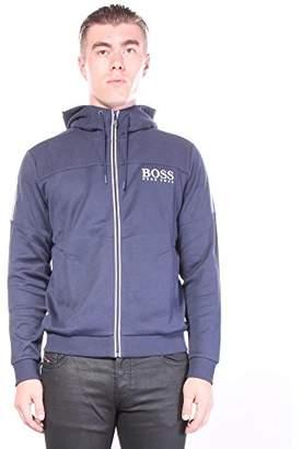HUGO BOSS BOSS Green Men's Saggy Zip up Hooded Sweatshirt