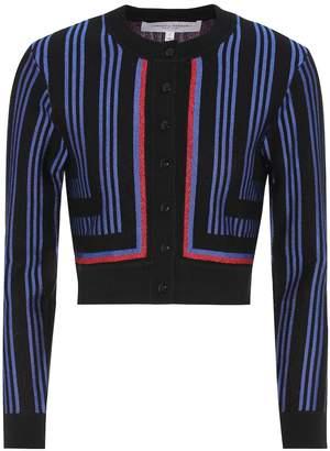 Carolina Herrera Striped wool-blend cardigan