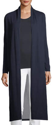 Neiman Marcus Superfine Viscose-Back Cashmere Duster
