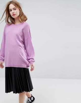 Asos Design Jumper In Oversize