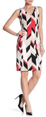 BOSS Dephani Sheath Dress