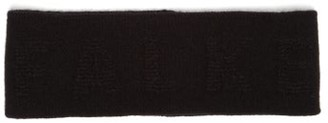 Falke Ess - Ski Wool And Mohair Blend Headband - Mens - Black