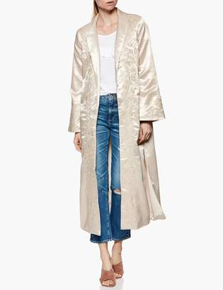Paige Maryella Coat - Sandy Shell Embroidery