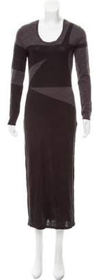 Kimberly Ovitz Contrast Sweater Dress