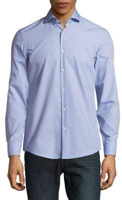 HUGO Sharp Fit Cotton Dress Shirt