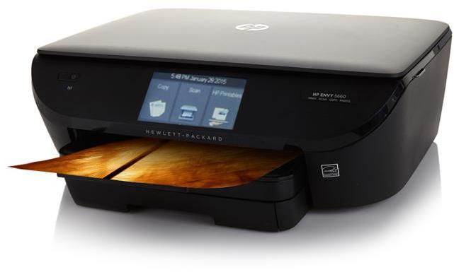 HP ENVY 5660 Wireless Photo Printer, Copier and Scanner with 1-Month Instant Ink and Software