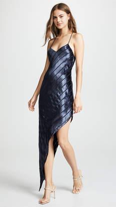 c74ee44e639fe Mason by Michelle Mason Asymmetrical Velvet Bias Dress