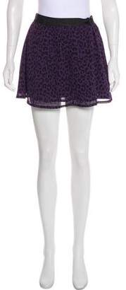 Karl Lagerfeld by Printed Mini Skirt w/ Tags