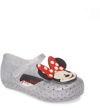 Mini Melissa x Disney Furadinha Minnie Mouse Mary Jane Flat