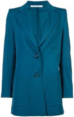 Oscar de la Renta fitted waist jacket