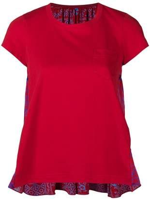 Sacai flared T-shirt