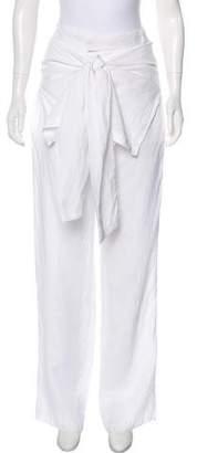 Barbara Bui Mid-Rise Silk-Blend Pants w/ Tags