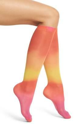 Happy Socks Hysteria by Mia Print Knee High Socks