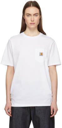 Carhartt Work In Progress White Pocket T-Shirt